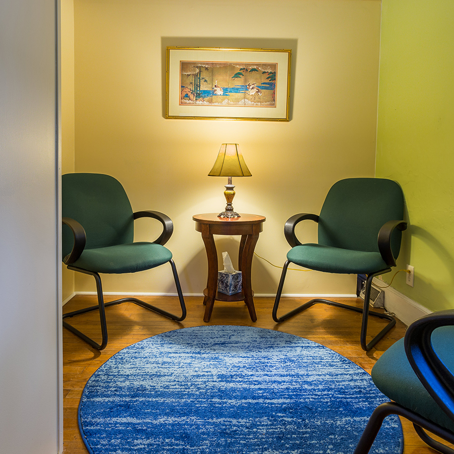 Charleston Community Acupuncture | New Patient Room